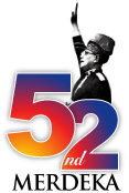 52nd Merdeka symbol