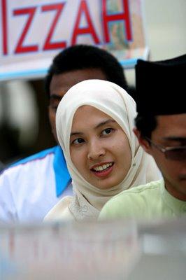 MP for Lembah Nurul Izzah Anwar
