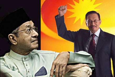 the ugly and dysfunctional pair mahathir mohamad and anwar ibrahim
