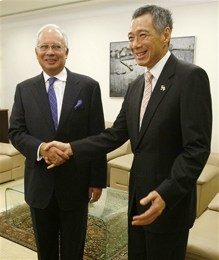 Image result for najib n lee hsien loong
