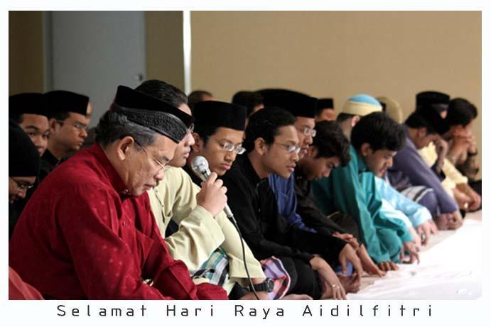 The Takbir Raya which began since maghrib (evening prayer on September ...