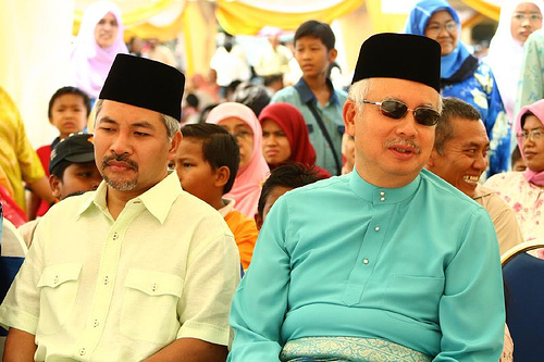 Image result for khir toyo+najib