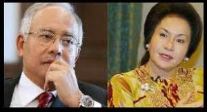 Najib and Rosmah-The Stars in London
