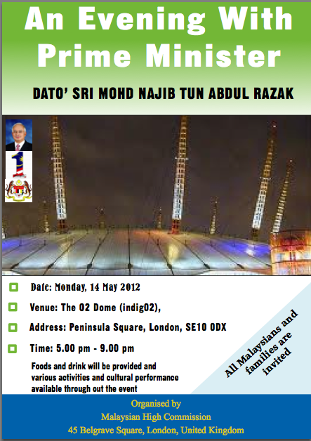 Najib Razak at London Indig02