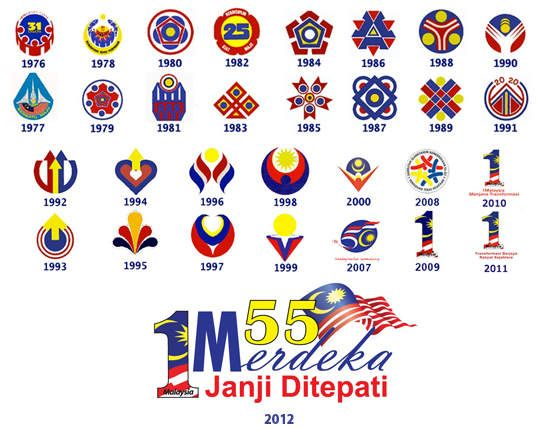 1malaysia 2012 Merdeka Day Logo Scrapped Din Merican The