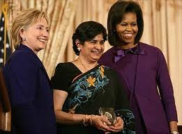 Hilary, Ambiga and Michelle