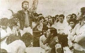 Hishamuddin Rais at Baling Protest, 1974