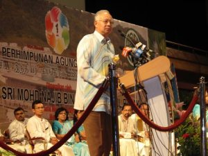 Najib at MIC Convention
