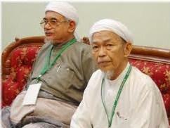 Nik Aziz and Hadi Awang