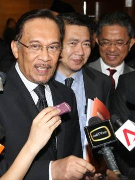 Anwar at High Court