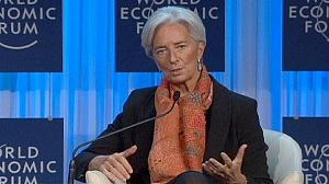 Christine Lagarde at Davos
