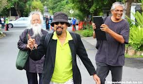 Hishamuddin Rais, Pak Samad Said and Haris Ibrahim