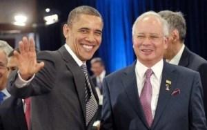 Najib and Obama