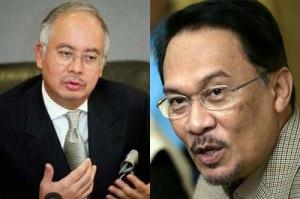 Najib vs Anwar