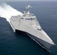 LCS modern warship