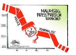 """press freedom in malaysia Diminishing media freedom is a growing concern worldwide, and a recent   malaysia (145) recently experienced a """"democratic miracle"""" and."""