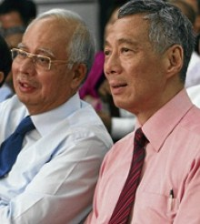 Najib and Lee
