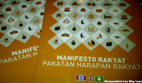 PR GE-13 Manifesto