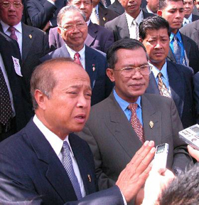 Ranariddh and Hun Sen