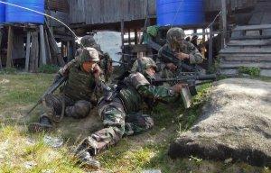 Action in Lahad Datu