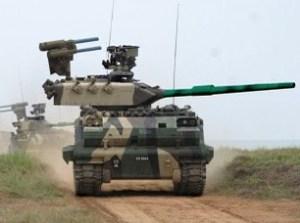 Malaysian tank
