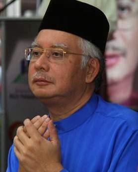 Najib needs divine help