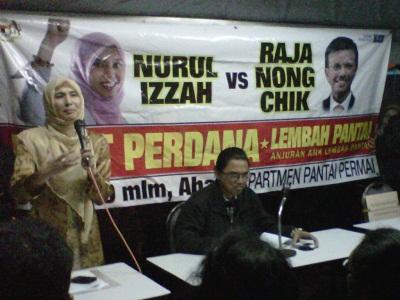 Nurul vs Nong Chik