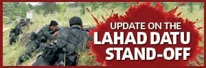Update Lahad Datu Standoff