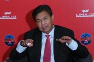 Zahid at LIMA2013