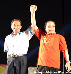 Anwar and Kit Siang