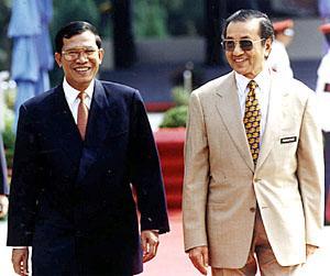 Hun Sen and Mahathir