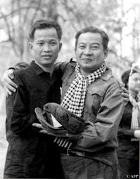 Khieu Samphan and Sihanouk