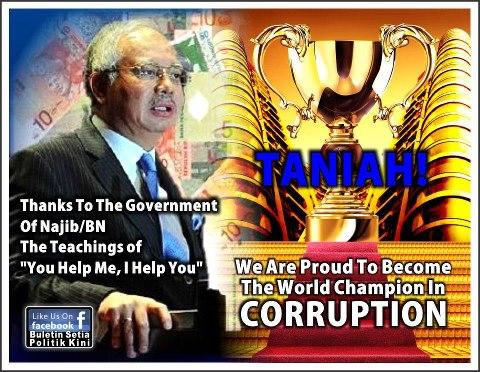 Malaysia--No 1 in Corruption