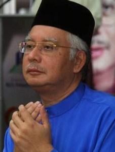 Najib in doa