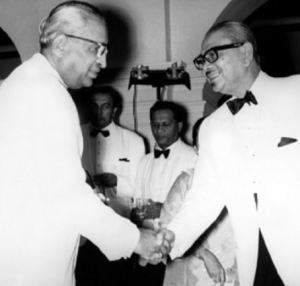 Tunku and PM of Ceylon