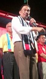 Campaigner Anwar
