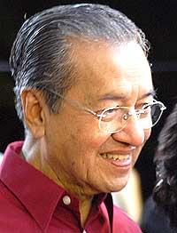 Dr Mahathir.