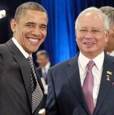Obama and Najib