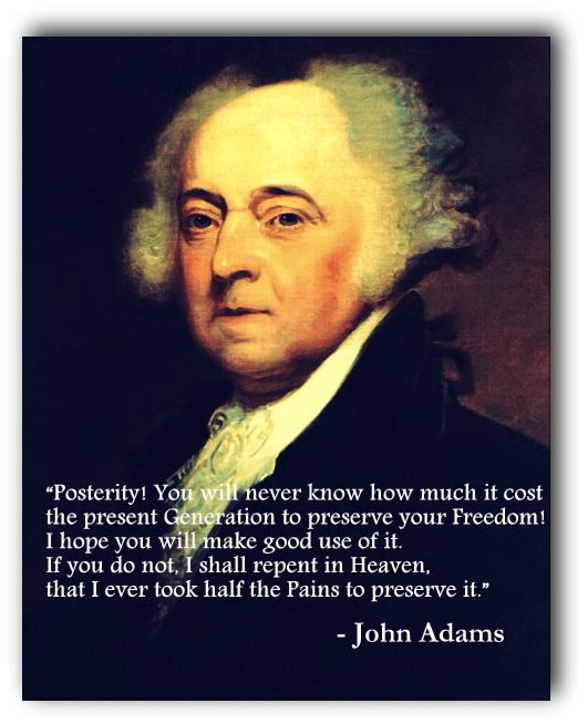 Quotes About George Washington By John Adams