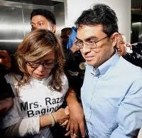 Mr and Mrs Razak Baginda