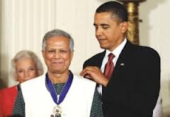 Obama and Yunus