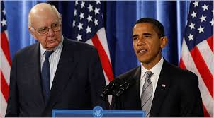 Volcker and Obama