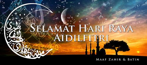 Selamat Hari Raya Aidilfitri kepada Semua rakyat Malaysia..