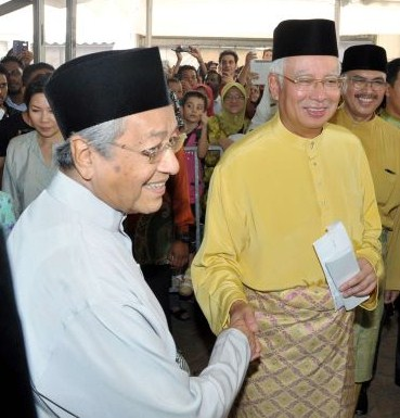 Mahathir and His Puppet