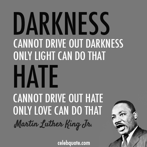 Quote Martin Luther King Jr Hate