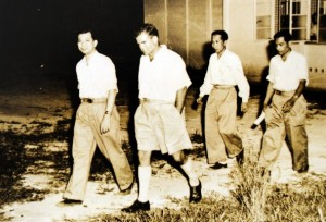 Chin Peng at 1955 Baling Talks