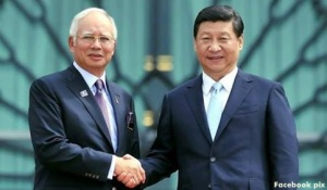 Najib and Xi