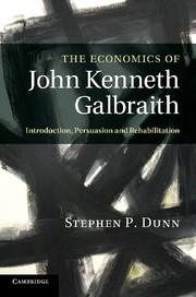 Stephen P. Dunn on JKG