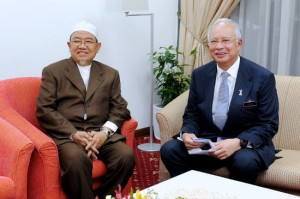 Mullah Harussani and Najib
