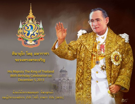 Thai King's Birthday